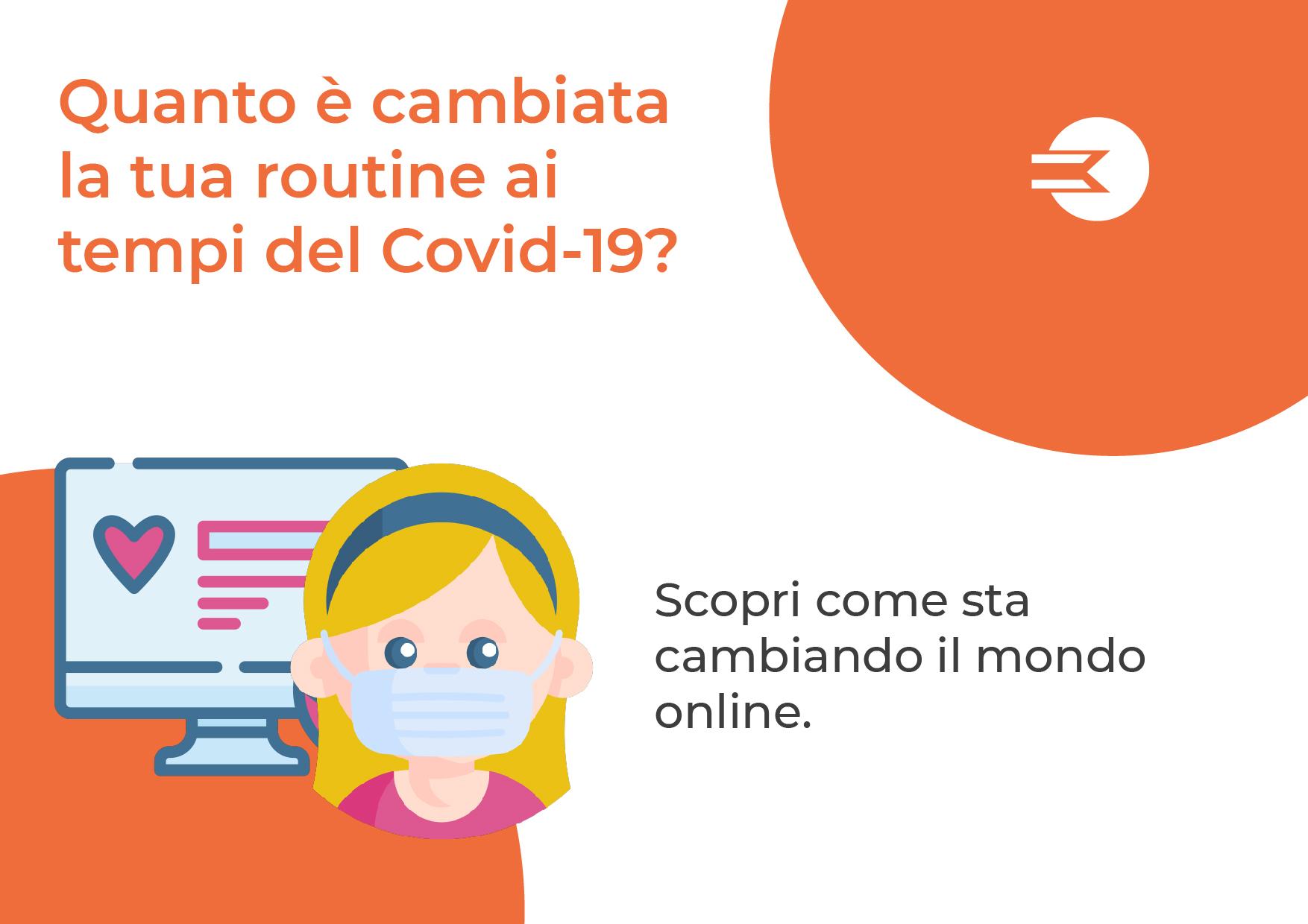 Il COVID sul mondo del Web