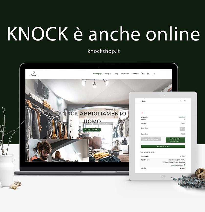 computer con sito web knockshop.it